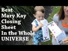 GAME CHANGER: Best Mary Kay Closing Sheet in the UNIVERSE!!