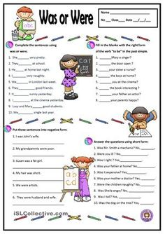 A simple worksheet to practise the verb to be - past simple. - ESL worksheets