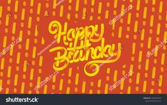 Happy birthday. Vector 3D lettering