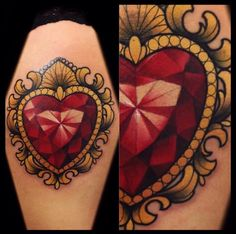 Zelda Heart Tattoo