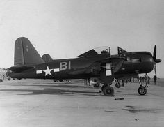 An FR-1 Fireball of VF-66 at NAS North Island, 1945