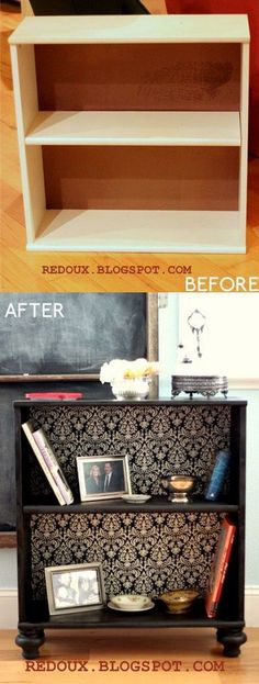 DIY Ottoman with Storage: This DIY ottoman is easy to put together with some cheap wooden crates and gives you additional seating and storage at the same time. See the DIY tutorial via Mon Makes Things.