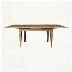 "Luciano 54"" Rectangle Dining Table With Refectory Leaves In Weathered"