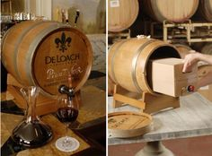Wine From a Barrel: Wine on Tap from Deloach Vineyards