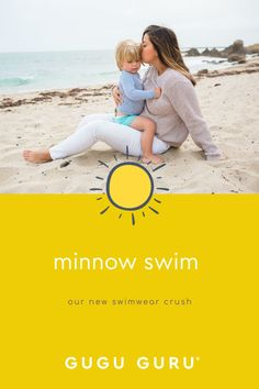 Minnow swim is Gugu Guru's bathing suit style crush! When we stumbled across minnow swim's beyond adorable swimwear line, we knew we had to share it with you! Made and designed in California, minnow swim is a contemporary children's swimwear label that embraces clean lines, simple details and crisp seaside breezes. Cute Baby Boy Outfits, Baby Must Haves, Gender Neutral Baby, Baby Boy Fashion, Summer Baby, Clean Lines, Seaside, Things That Bounce, Cute Babies