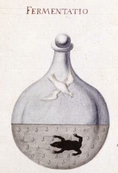alchemical drawings ♥ holy spirit & shadow of a frog (is it the plague?) healings from alchemy...
