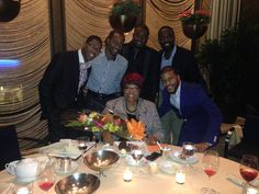 """Four Seasons Dinner with her Grace Bishop Iona Locke and the """"God Brothers of NY"""""""