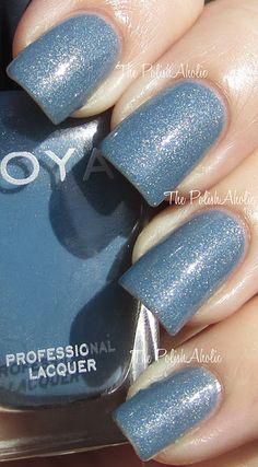 Zoya Skylar Blue And Silver Nails, Gold Nails, Blue Nails, Blue Pedicure, Small Beach Weddings, Wedding Nails For Bride, Wedding Hair, Blue Nail Polish, Nail Tattoo