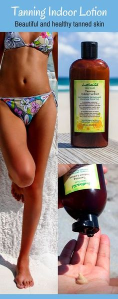 This natural indoor tanning lotion offers a tan that looks like you got it at the beach, it is easy to use, smells great and gives great results. Can be used at the beach or in a tanning bed. It is a fool of amazing ingredients like aloe vera, coffee ext Outdoor Tanning, Indoor Tanning Lotion, Safe Tanning, Tanning Bed, Tanning Tips, Tanning Products, Tanning Cream, Just Natural Products, How To Tan Faster