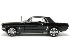 1964 1/2 Ford Mustang Hardtop 1:18 Scale - Welly Diecast Model (Black) #ford #mustang #gt #shelby #shelbygt500 #shelbygt350 #gt500 #gt350 #gt40 #fastbackmustang #fastback #cobra #cobrajet # cobraII #cobra2 #boss #bossmustang #boss428 #boss429 #boss302 #xygt #xygtho #musclecar #customcar #hotrod #diecast #118scale #124scalemodelcars