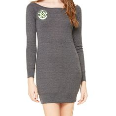 Coastal Ring in Green Sweater Dress
