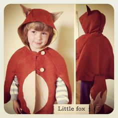 """oliver+s cape pattern from """"little things to sew"""""""