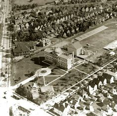 Old Main at Canisius College in 1922