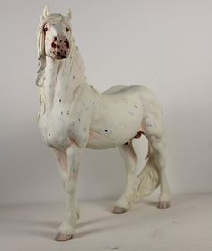 """Mystic Knight""Sculptor Sarah Minkiewicz-Breunig  Painter Amanda Brock -  model horse"