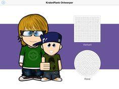 Gratis app: KralenPlank Ontwerper voor iPad