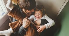 Young mother cuddling with toddler girl laughing by Rob and Julia Campbell - Stocksy United Parenting Styles, Parenting Hacks, Parenting Articles, Gentle Parenting, Kids And Parenting, Care Jobs, Fun Questions To Ask, Best Documentaries, Raising Boys