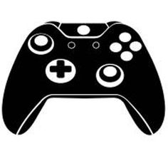 game controllers svg dxf file instant download silhouette ...Xbox Controller Silhouette Image Cricut