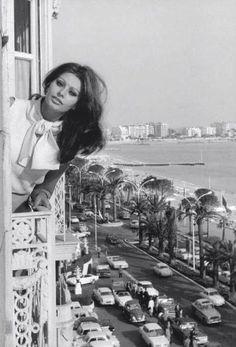 Sophia Loren in Alexandria, Egypt