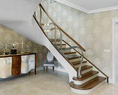 www.trabczynski.com  Trąbczyński   schody nowoczesne giętę ST795  / Trabczynski Curved Modern Stairs ST795  #schodynowoczesne   #modernstairs  #curvedstairs  #woodenstairs #stairs