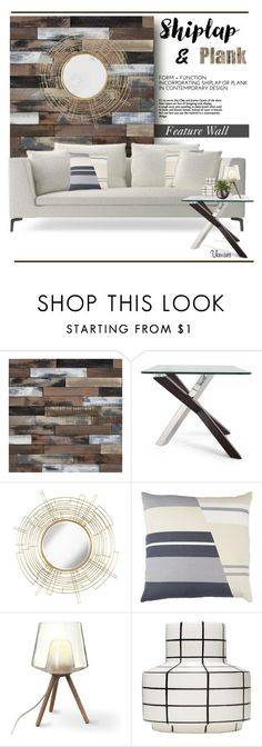 """""""Feature Wall.."""" by vkevans ❤ liked on Polyvore featuring interior, interiors, interior design, home, home decor, interior decorating, Magnussen Home, Uttermost, MANI and Hanover Floral"""