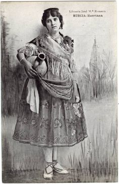 Visor Archivo General Región de Murcia. FOT_POS,05/098 / Huertana.c.1900