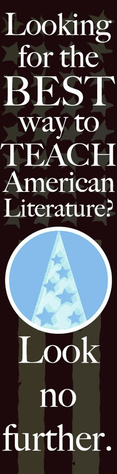 Teach argument and deep reading across all American lit texts with these lessons. Flex those English teacher muscles!
