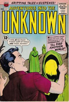 Adventures Into The Unknown 141 July 1963 Issue by ViewObscura