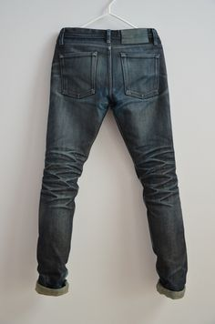 Naked & Famous Denim x Blue in Green Rigid Deep Indigo Selvedge 21Oz Denim