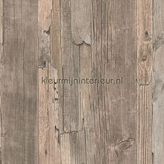 Steigerhout behang 95405-3, Decoworld van AS Creation Hardwood Floors, Flooring, As, Texture, Beige, Crafts, House Styles, Cottage Chic, Wallpaper