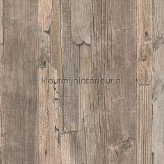Steigerhout behang 95405-3, Decoworld van AS Creation