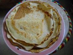 Pâte à crêpes au lait de soja et sans gluten