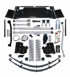 1994 JEEP CHEROKEE (XJ) Rubicon Express 7.5 Inch Extreme-Duty Long Arm Lift Kit -… #JeepAccessories #JeepParts #Wrangler #Cherokee #Liberty