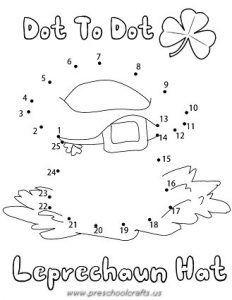 Printable St Patrick Day Worksheets For Preschool