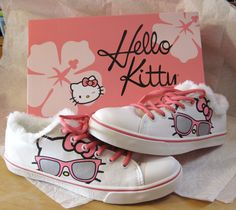 Sweet Hello Kitty shoes
