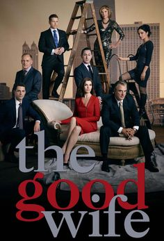 The Good Wife- Don't watch a lot of network shows because the acting and writing aren't usually that good- this one is very good! The cast and writers are a cut above the usual :)