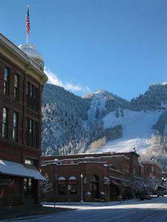 Steve and I honeymooned in Aspen, CO.   Love it here!!