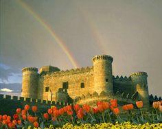 Belmonte Castle, La Mancha region, Spain  © Jim  Zuckerman
