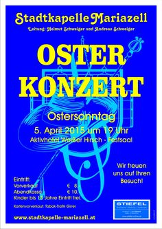 Osterkonzert Stadtkapelle Mariazell 2015