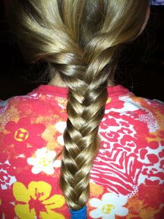 Leah reverse braid
