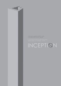 Inception (2010) ~ Minimal Movie Poster by iamhingo #amusementphile