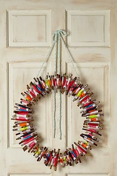 Anthropologie Kindling wreath