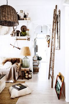 Shop the Room: A Dreamy and Casual Cottage via @domainehome // Kara Rosenlund