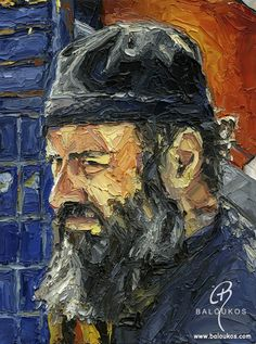 Paintings with Mount Athos Themes - ΠΙνακες με θέματα απο το Αγιο Ορος www.baloukos.com