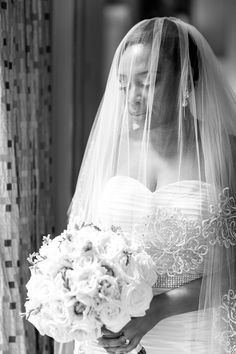 perfect veil shot lilian haidar photography http://munaluchibridal.com/romantic-nigerian-wedding-harvard-club-nyc