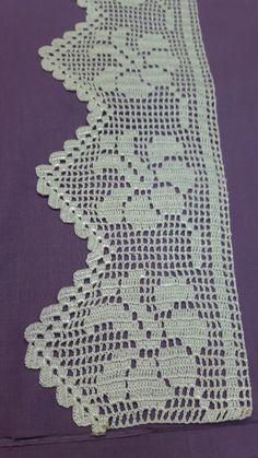 Easiest Crochet Frills Border Ever! Crochet Edging Patterns, Crochet Lace Edging, Crochet Borders, Crochet Cross, Doily Patterns, Crochet Trim, Filet Crochet, Easy Crochet, Crochet Pincushion