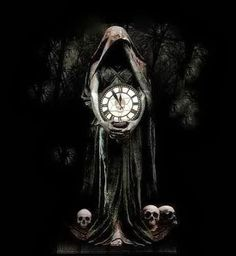 Bizarre Surreal and Dark Art Pictures - Smashing Magazine Dark Fantasy Art, Light Vs Dark, Paranormal, Elves Fantasy, Dark Artwork, Clock Art, Arte Horror, Gothic Art, Dark Cloud