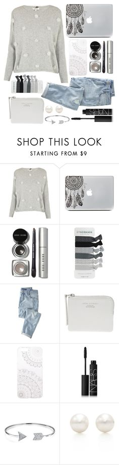 """""""Should I start a tag list??"""" by nazzbelle ❤ liked on Polyvore featuring Cocoa Cashmere, Bobbi Brown Cosmetics, Wrap, Monika Strigel, NARS Cosmetics, Bling Jewelry and Tiffany & Co."""