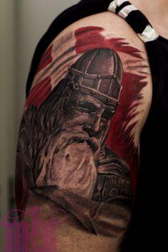 Arm Tattoos, Tatoos, Viking Warrior, Tattoo Studio, Danish, Vikings, Warriors, Arms, Meals