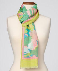 Cotton/Silk Havana Winds Scarf