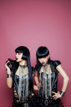 Aya Sato and Bambi Fashion Art, Editorial Fashion, Fashion Models, Fashion Beauty, Girl Fashion, Steampunk Lolita, Gothic Lolita, Japanese Streets, Japanese Street Fashion